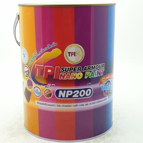 TPI สีทีพีไอ ซูเปอร์ นาโน อาร์เมอร์ เพ้นท์ W02 ์NP200