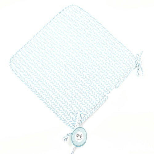 COZY เบาะรองนั่งสี่เหลี่ยม ขนาด40×40×2ซม. สีฟ้า
