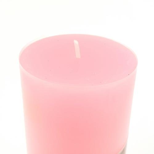 COZY เทียนหอม  ขนาด 4.7x12 ซม. Candle-PKL  สีชมพู