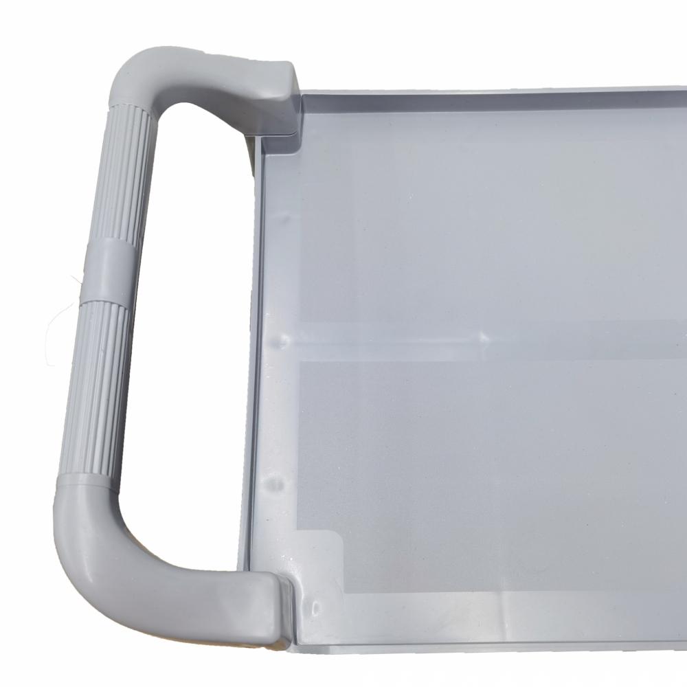GOME รถเข็นอเนกประสงค์พลาสติก ขนาด 84.5x43x95 ซม. AF08162 เทา