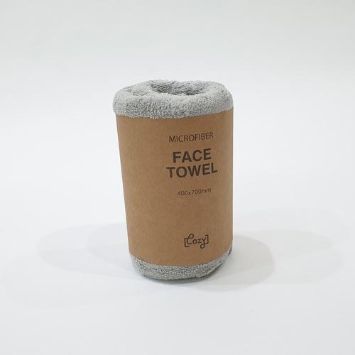 COZY ผ้าเช็ดตัว MFT-4070GY สีเทา