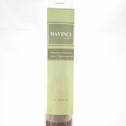 Davinci ม่านม้วน  ขนาด 70x160ซม.  BC-001S-09504-70BR  สีน้ำตาล
