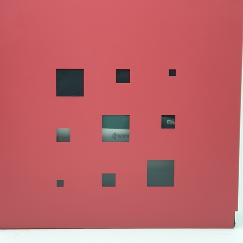 HATO ตู้จดหมาย WLD18G WLD18G สีแดง