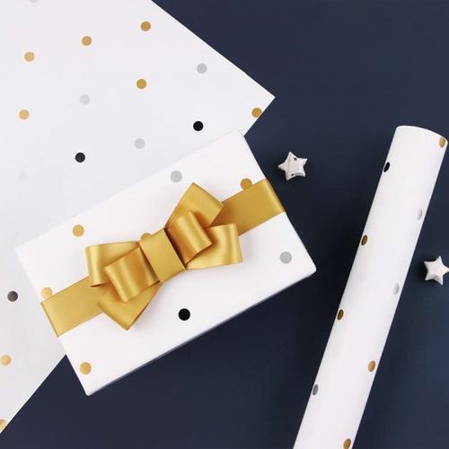COZY กระดาษอาร์ตห่อของขวัญ ขนาด 50x70ซม. คละลาย HNY001