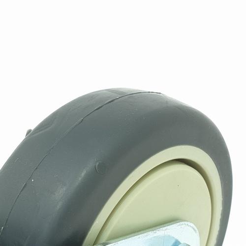 KAMPER ล้อ TPR แป้นหมุน 4201-101 สีเทา
