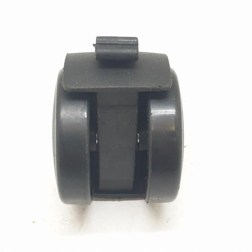 KAMPER ล้อแกนเดือย Black Nylon  TWFFB-50 สีดำ