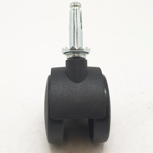 HUMMER ล้อแกนเดือย Black Nylon TWSB-50 สีดำ