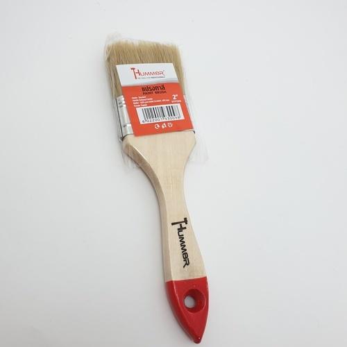 HUMMER แปรงทาสีขนสาเก 2นิ้ว DTPT098 สีขาว