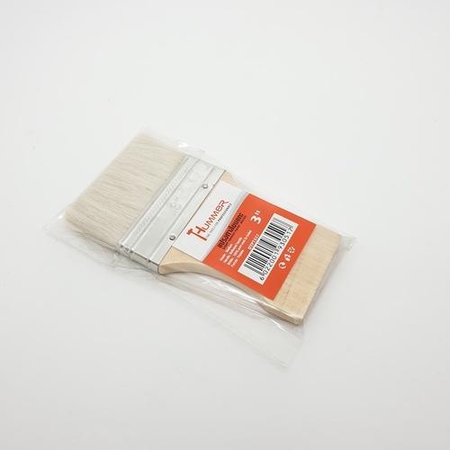 HUMMER แปรงทาวานิช3นิ้ว DTPT517 สีขาว