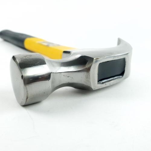 HUMMER ค้อนหงอนด้ามไฟเบอร์หัวเว้า 16 ออนซ์ ZH0040