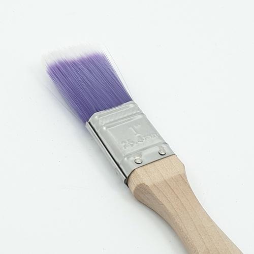 HUMMER แปรงทาสีน้ำมันด้ามไม้ ขนาด 1นิ้ว DTPT7349