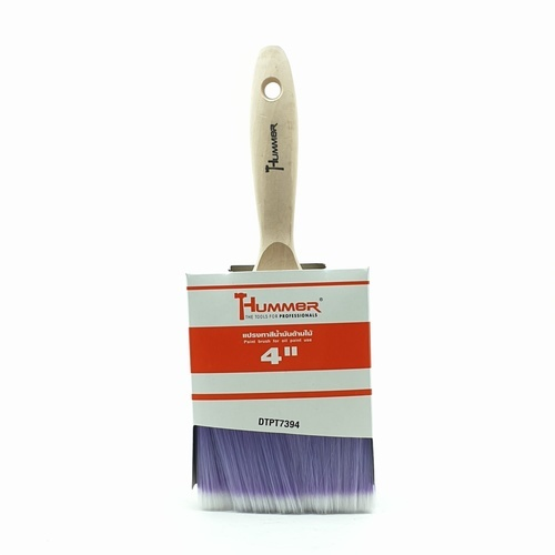 HUMMER แปรงทาสีน้ำมันด้ามไม้ ขนาด 4นิ้ว DTPT7394