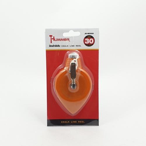 HUMMER ปักเต้าตีเส้นพลาสติก  JR-MXH08 (30M) แดง