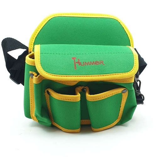 HUMMER กระเป๋าเครื่องมือช่างคาดเอว JR-YB03  สีเขียว-เหลือง