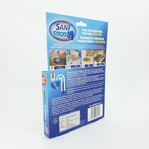Sani แท่งทำความสะอาดท่อน้ำ กลิ่นออริจินอล MK001 สีน้ำเงิน