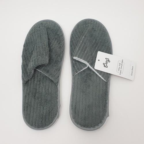 COZY รองเท้าแตะโรงแรม ขนาด11×29×0.65 ซม. LL08 สีเทา