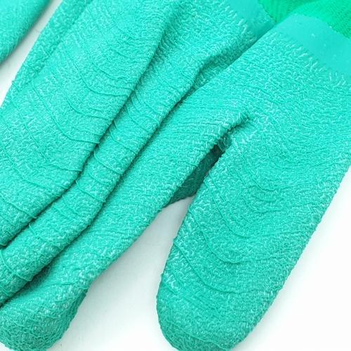 Tree O ถุงมือเคลือบยาง  ZBST016 สีเขียว
