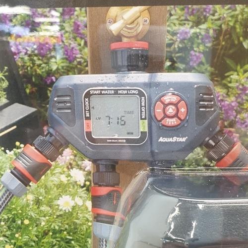 Aquarstar เครื่องตั้งเวลารดน้ำ 4 ทาง  25577