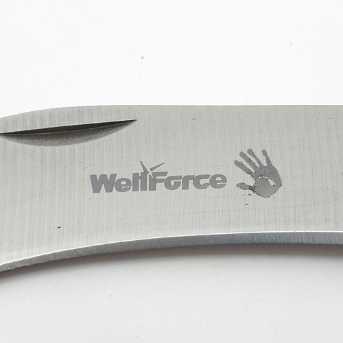 WELL FORCE มีดพับอเนกประสงค์ปลายแหลม Wellforce 83000