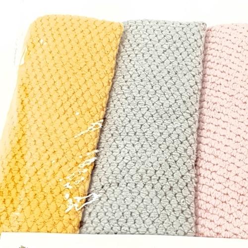 ICLEAN ผ้าเช็ดอเนกประสงค์ จำนวน 4 ผืน/แพ็ค 6YWXY-004 คละสี