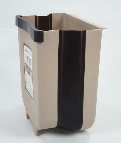ICLEAN ถังขยะแขวน พับเก็บได้ ความจุ 9ลิตร  5068-BR