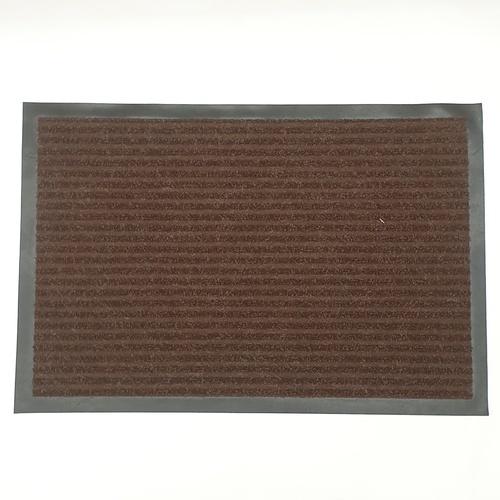 GRAFFE พรมดักฝุ่นกันลื่น  ขนาด 40x60 ซม. หนา 0.7 มม. CM1000BR46 สีน้ำตาล