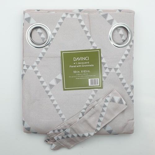 Davinci ผ้าม่านหน้าต่างพิมพ์ลาย  ขนาด 150x160 ซม.  A72010RR#2WD สีชมพู