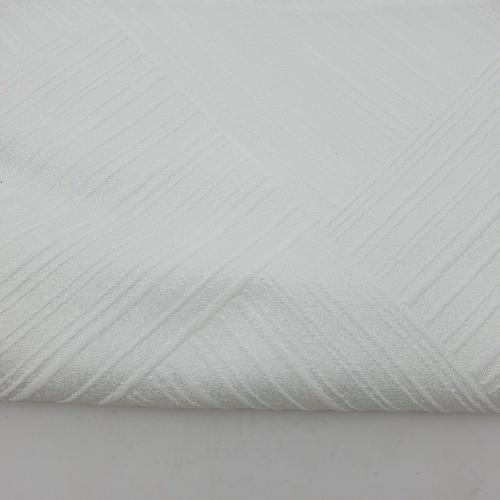 Davinci ผ้าม่านหน้าต่างพิมพ์ลาย ขนาด 140x160 ซม.   A72016AW#1WD สีขาว