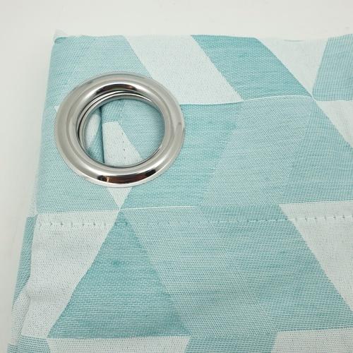 Davinci ผ้าม่านหน้าต่างพิมพ์ลาย  ขนาด 150x160 ซม.  A72065CC#3WD สีฟ้า