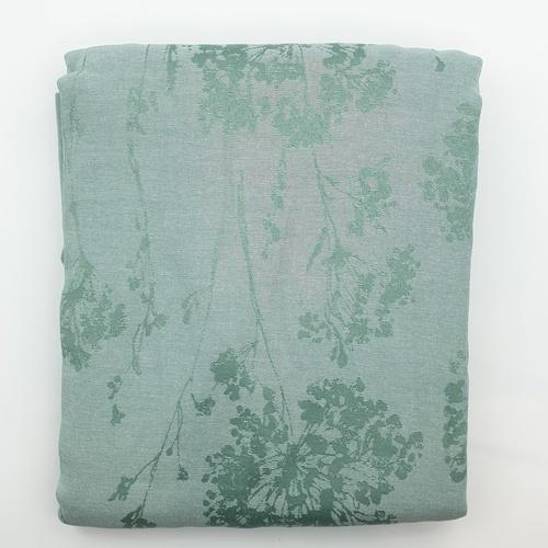 Davinci ผ้าม่านประตู ขนาด 145x240ซม.   A72172RR  สีเขียว
