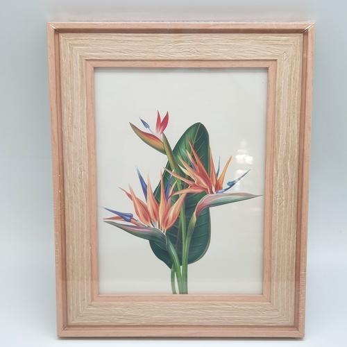 COZY กรอบรูป ขนาด 6x8นิ้ว ลายไม้ สี Natural wood  ไม้ธรรมชาติ