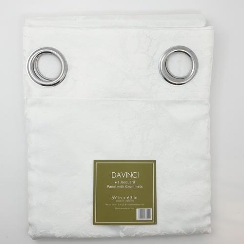 Davinci ผ้าม่านหน้าต่าง  150x160ซม.  Hejo   สีขาว