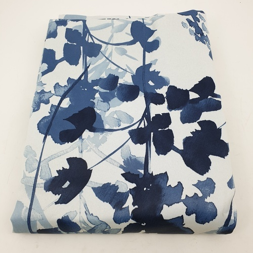 Davinci ผ้าม่านหน้าต่าง  ขนาด 150x160ซม.   Asul  สีฟ้า