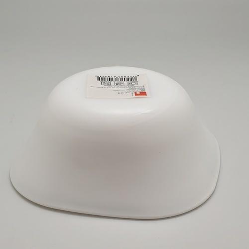 ADAMAS ถ้วยโอปอลทรงเหลี่ยม FXW60 สีขาว