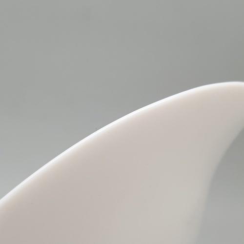 ADAMAS จานโคลเวอร์  ขนาด 10.5 นิ้ว SYP105 ขาว