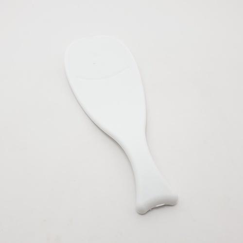 - ทัพพีพลาสติก  ขนาด 6.5x19x0.2 cm   ZDS001-WH สีขาว