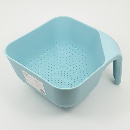 UCHI ตะกร้าชาวข้าว ล้างผ้ก ZZJ010-BB สีฟ้า