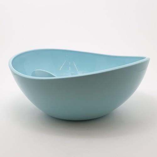 UCHI ชามสลัด  ขนาด 35*27*9.5 cm  ZZJ011-BB สีฟ้าอ่อน