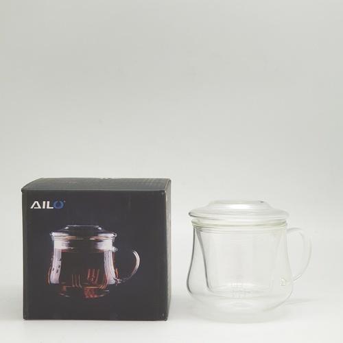 AILO แก้วชาพร้อมที่กรองและฝาปิดแก้ว 300 ml.   XXL020