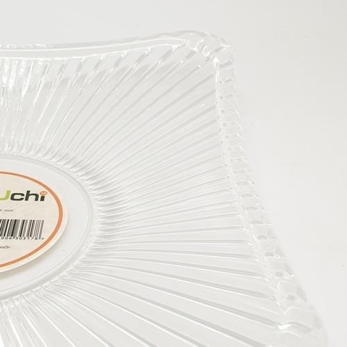 UCHI ถาดอะคริลิค 20X20X3.2 CM. ZYH026
