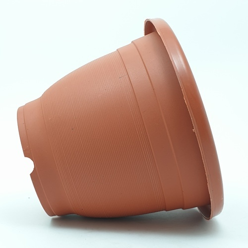 - กระถางต้นไม้พลาสติก ขนาด 16.5x9x13 cm. ZJXSL-026 สีน้ำตาล