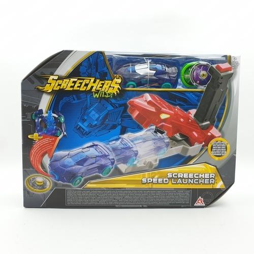 Sanook&Toys ยานพาหนะของเล่น Screechers Wild - Speed Launcher EU683151