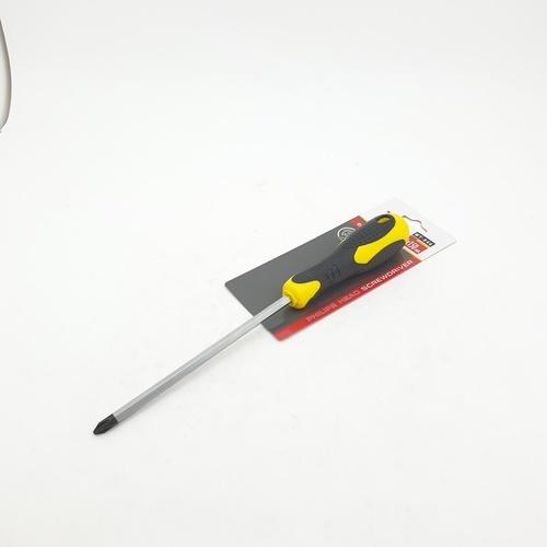 HUMMER ไขควงปากแฉกหัวแม่เหล็ก ขนาด 6x150มม. รุ่น WT-846  สีเหลือง