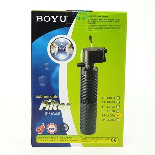 BOYU ปั้มพร้อมกรองน้ำตู้ปลา SP-1800A
