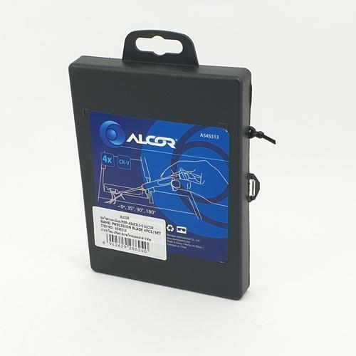 ALCOR ชุดงัดโอริง 4 ชิ้น  A545313 สีดำ