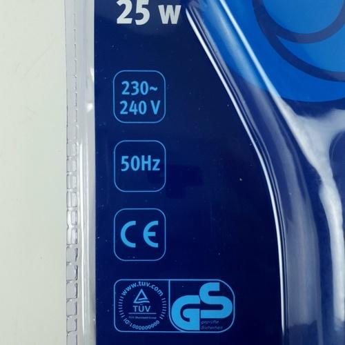 ALCOR หัวแร้ง 25W. A406502EU สีน้ำเงิน