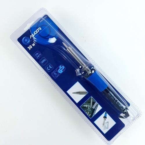 ALCOR หัวแร้ง 30W. A406503EU สีน้ำเงิน