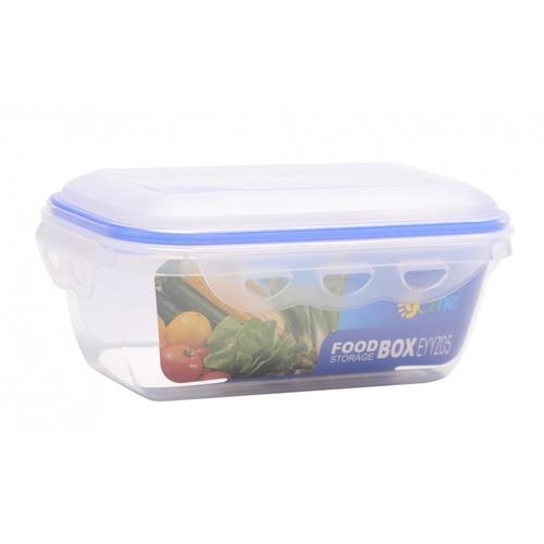 GOME  กล่องถนอมอาหารพลาสติกทรงเหลี่ยม  800ML  EYYZ05 สีน้ำเงิน