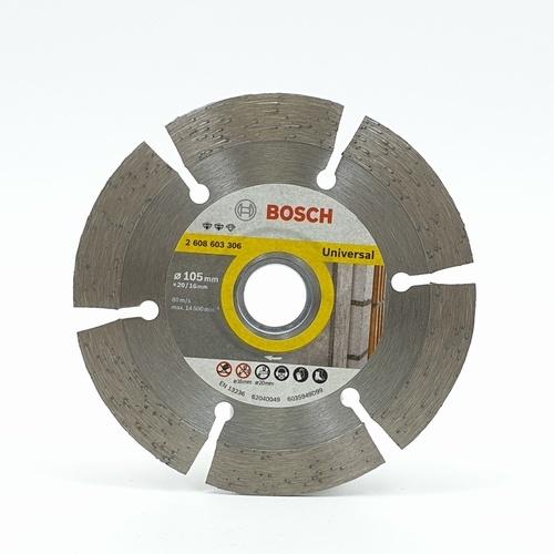 BOSCH แผ่นตัด ตัดแห้ง ตัดเปียก ใบตัดเพชร 4 นิ้ว Expert for Universal 306 โครเมี่ยม