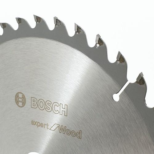 BOSCH ใบเลื่อยวงเดือน Expert for wood (9 1/4 X 40T) เงิน